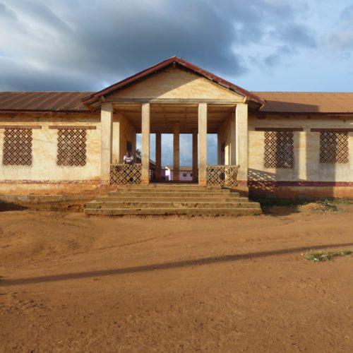 Akonolinga-Kamerun-Schulgebaeude